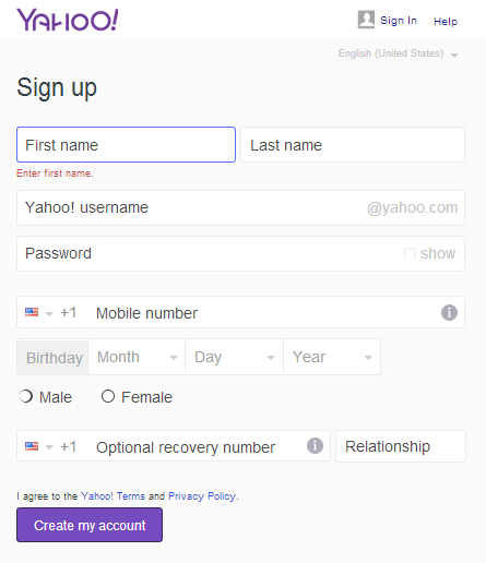 Can I change my Yahoo ID and email address?
